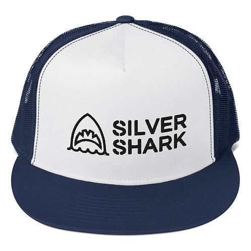 Silver Shark Cap
