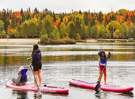 autumn paddle boarding tips