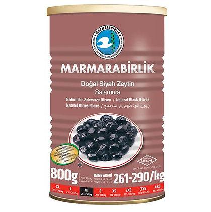 Marmarabirlik Super μαύρη ελιά 800γρ