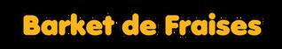 logo barket de fraises