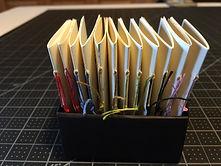 Tiny Pamphlets in Masu Box.JPG