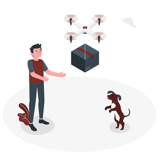 Drone Delivery-amico.png