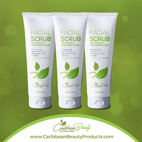 STEP 3 - Facial Scrub