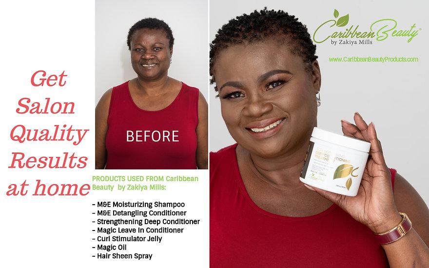 Natural Hair Care and Styling using Caribbean Beauty by Zakiya Mills