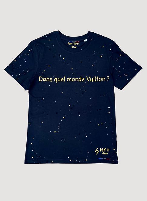 Tee-shirt noir - Joli monde
