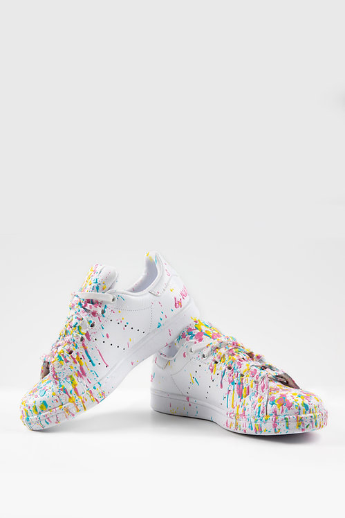 Sneakers blanches  – Artist fight