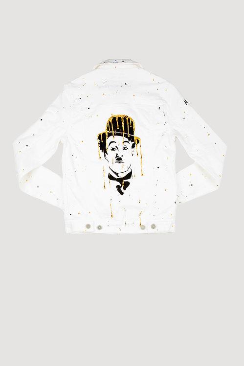 Veste en jeans blanc - Dreamy Chaplin