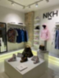 Intérieur boutique NKH Paris - 6 rue de la Vrillière