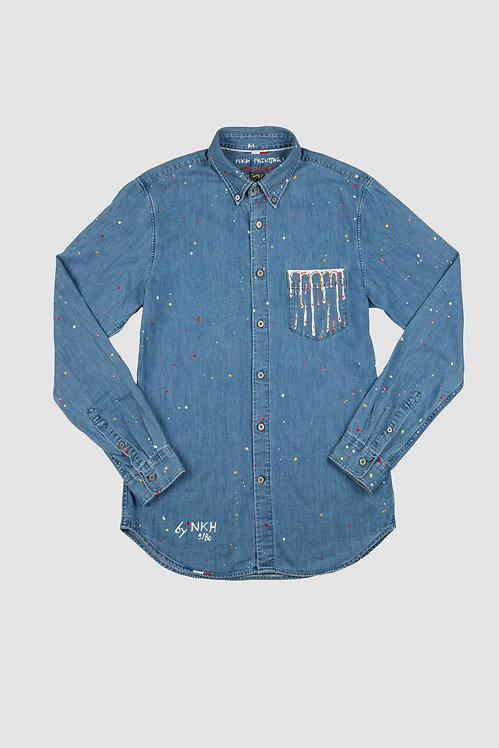 Chemise en jeans -In the pocket