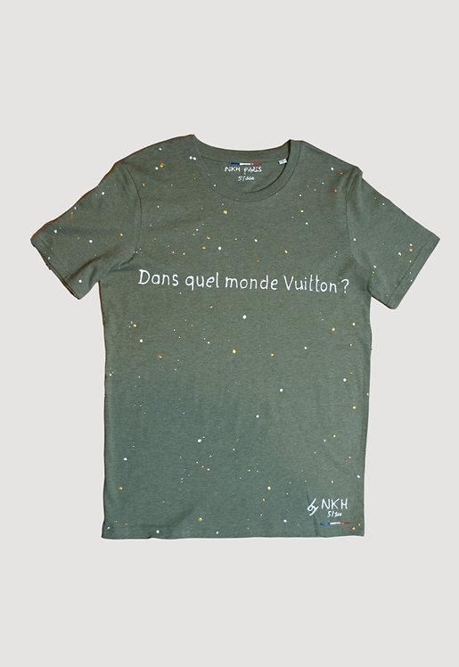 Tee-shirt kaki - Joli monde