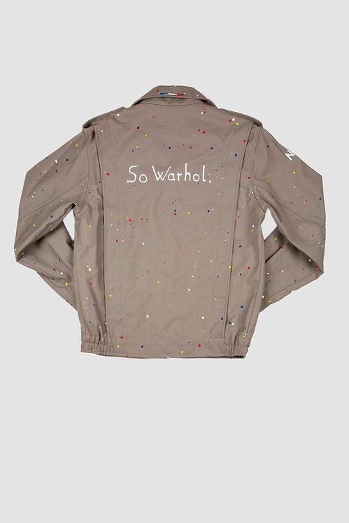 Blouson militaire - So Warhol.