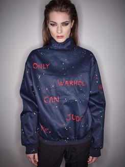Veste Harrington : Only Warhol can judge me