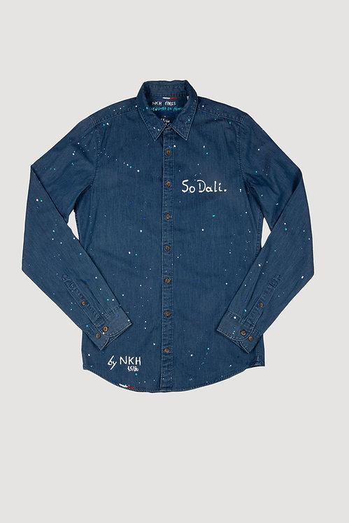 Chemise en jeans - So Dali.