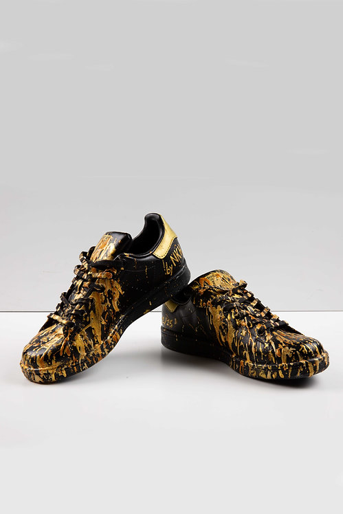 Sneakers noires - Gold digger