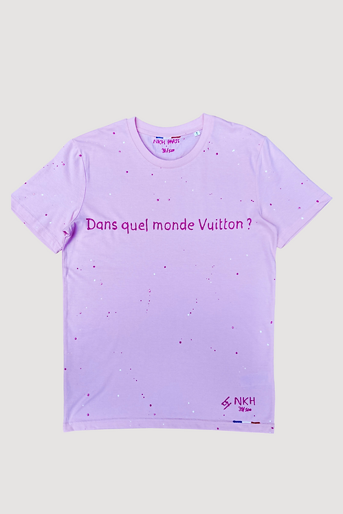 Tee-shirt rose - Joli monde