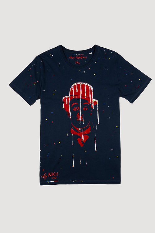 Tee-shirt bleu marine - Dreamy Chaplin