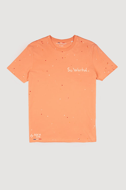 Tee-shirt orange - So Warhol.