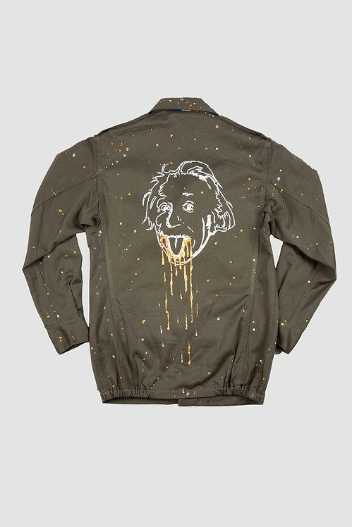 Veste militaire kaki - Crazy Einstein (cristal Swarovski)
