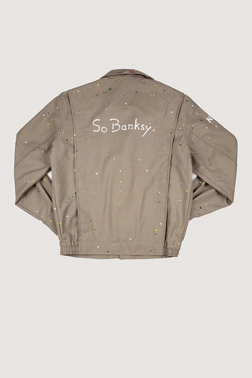 Blouson militaire - So Banksy.