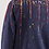 Thumbnail: Pull bleu marine - Sky dripping