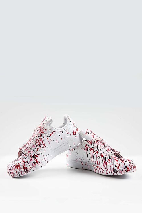 Sneakers blanches  – Artist fight 2