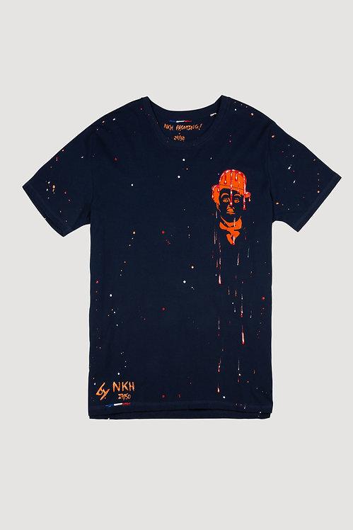 Tee-shirt bleu marine - Cheater Chaplin