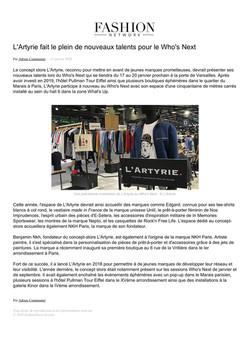 Fashion Network - Janvier 2020