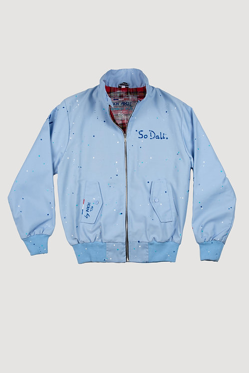 Veste Harrington bleu ciel - So Dali