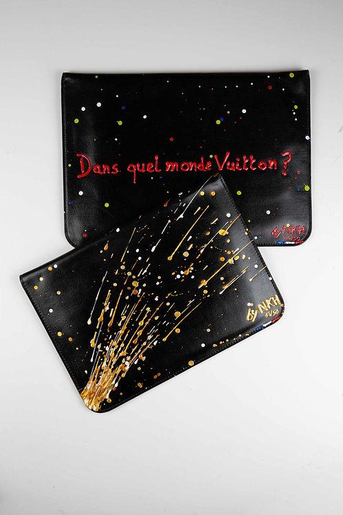 Pochette ordinateur - Crazy Fireworks