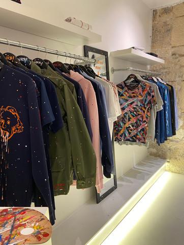Intérieur boutique NKH Paris