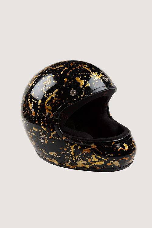 Casque de moto collab' Exklusiv- Gold Digger