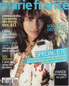 Marie France - Septembre 2016