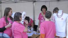 1 Octobre 2015: Journée d'ouverture de l'Octobre Rose contre le cancer du sein.