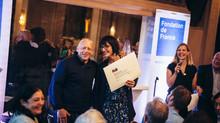 5 Octobre 2015 : Remise du prix Déclic Jeunes, de la fondation de France !!!!!
