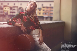 Editorial in Florence with Andrea Sartore