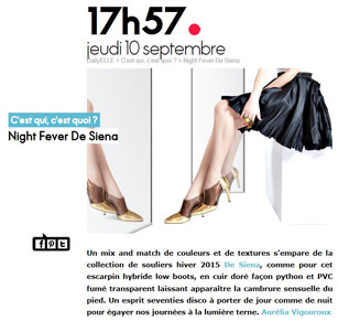 DE SIENA SHOES FW15/16