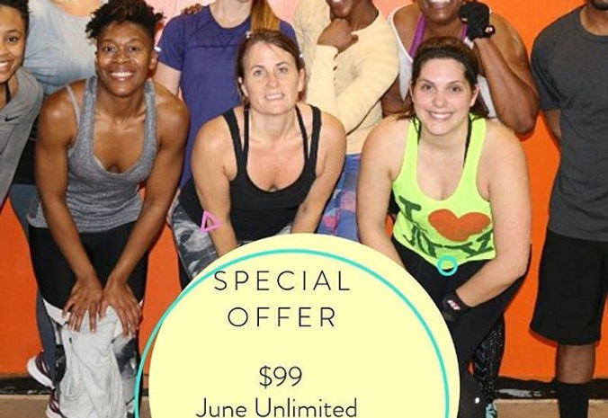June Unlimited Classes Special