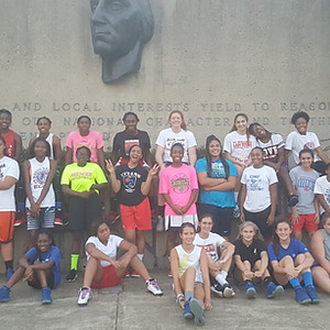 T.C. Williams H.S. Girls BB Conditioning