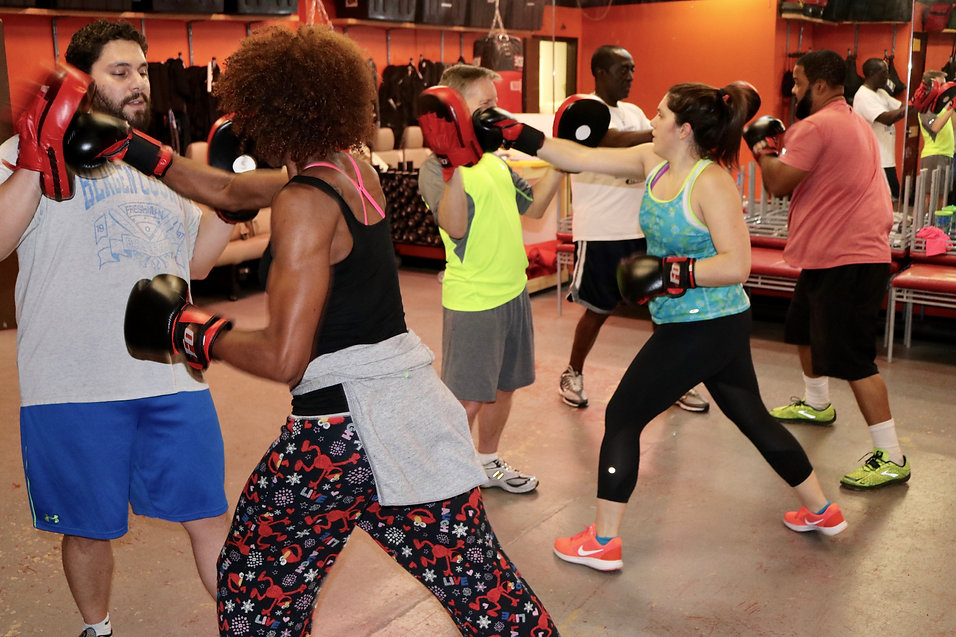Kickboxing at FO Fitness