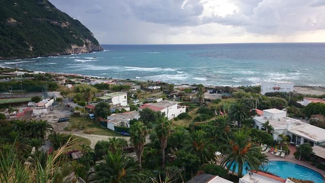 Остров Искья - термальный рай Италии.