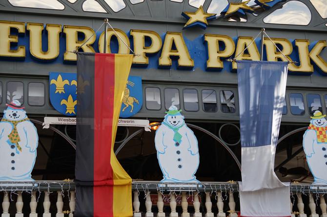 Europa Park - лучший в Германии парк развлечений!