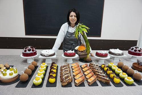 Торты, пирожные и макарун
