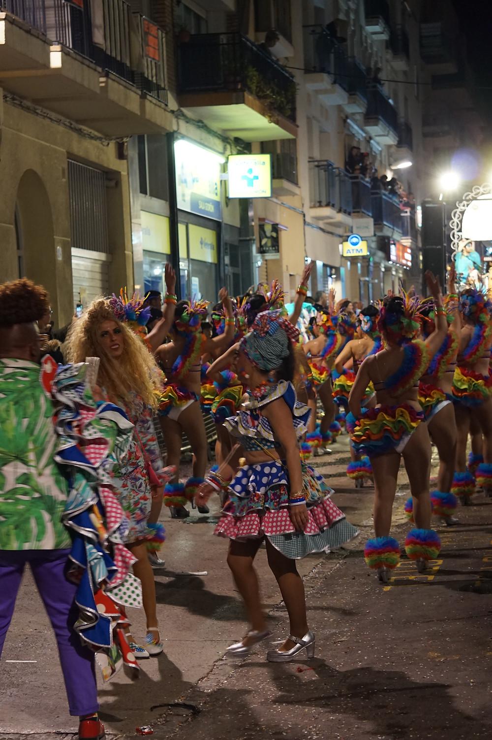 Карнавал в Ситжесе