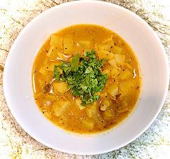 Green mango curry -- Kolkota version