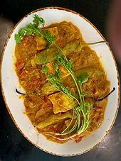 Rajasthani paneer with green frying chilies (Paneer mircha)