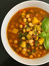 Chickpea soup mamusia