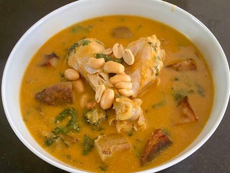 African chicken-peanut stew