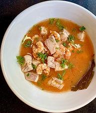 Seafood stew from Corfu