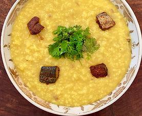 Cumin and dried fish rice porridge (Jeeraga Kanji)