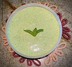 Cilantro-yogurt chutney